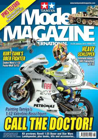 Tamiya Model Magazine issue 195
