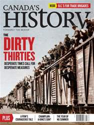 Canada's History issue Aug/Sep 2016