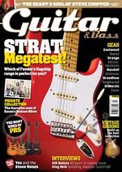 Guitar & Bass Magazine issue January 2012 Strat Megatest