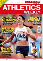 Athletics Weekly issue 14/07/2016