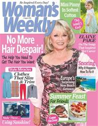 Womans Weekly issue 2nd August 2016