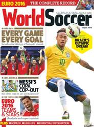 World Soccer issue August 2016