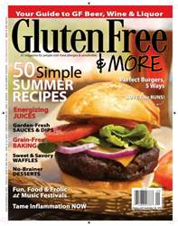 Gluten Free & More issue Aug/Sept 2016