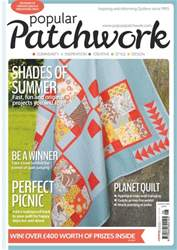 Popular Patchwork Magazine issue Aug-16