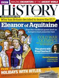 BBC History Magazine issue August 2016