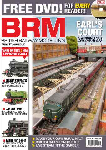British Railway Modelling issue August 2016