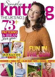 Simply Knitting issue September 2016
