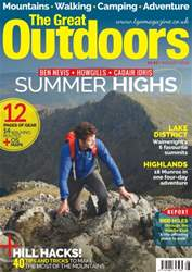 TGO - The Great Outdoors Magazine issue August 2016
