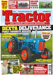 Tractor & Farming Heritage Magazine issue September 2016 - Dexta Deliverance