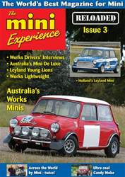 The Mini Experience issue Issue 3  July to September 2016