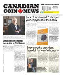 Canadian Coin News issue V54#09 - August 9