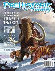 Prehistoric Times issue Issue #118 Summer 2016