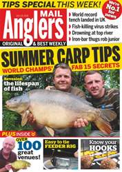 Anglers Mail issue 19th July 2016