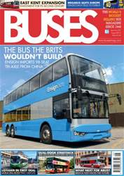 Buses Magazine issue August 2016