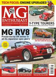 MG Enthusiast issue Vol. 46 No. 9 - MG RV8