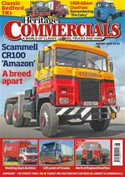 Heritage Commercials Magazine issue August 2016 - Scammell CR100 'Amazon'