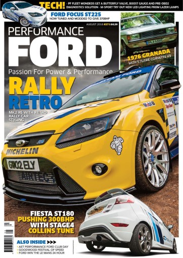 Performance Ford issue August 2016