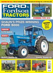 Ford & Fordson issue No. 74 - Shaun's Prize Winning Ford 5000