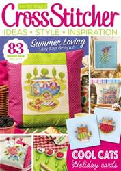 CrossStitcher issue August 2016
