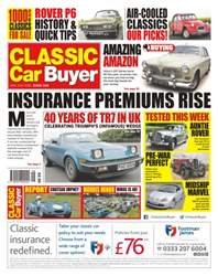 Classic Car Buyer issue No. 340 - Insurance Premiums Rise