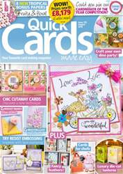 Quick Cards Made Easy issue August 2016