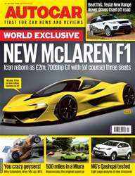 Autocar issue 20th July 2016