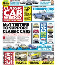 Classic Car Weekly issue 20th July 2016