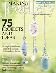 Making Jewellery issue August 2016