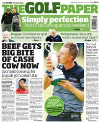 The Golf Paper issue 20th July 2016
