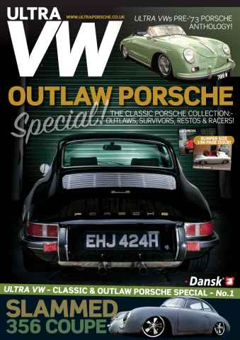 Ultra VW issue FREE Porsche Special – 196-pages of Outlaw, Retro, Replica & Race cars!