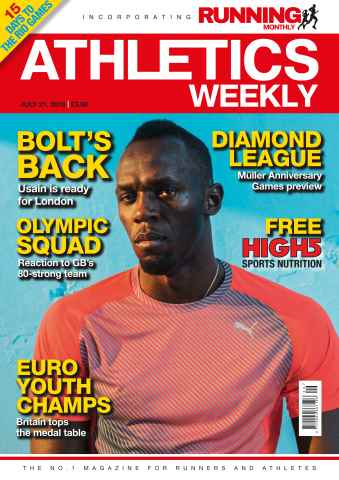 Athletics Weekly Preview 1