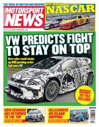 Motorsport News issue 20th July 2016