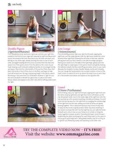OM Yoga UK Magazine Preview 32