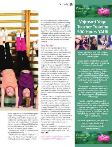 OM Yoga UK Magazine Preview 39