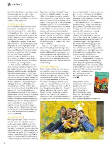 OM Yoga UK Magazine Preview 110