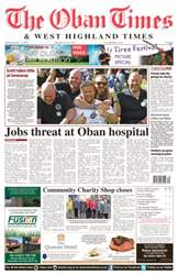 Oban Times and West Highland Times issue 21st July 2016