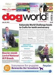 Dog World issue 22 July 2016