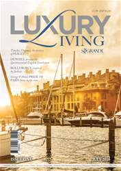 Luxury living  Magazine issue First Edition