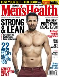 Men's Health Malaysia issue August 2016
