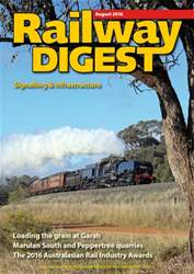 Railway Digest issue August 2016