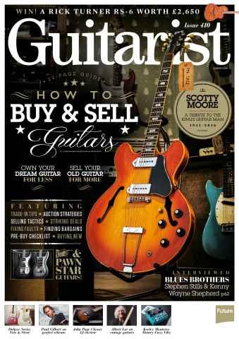 Guitarist issue Summer 2016
