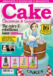 Cake Decoration & Sugarcraft Magazine issue September 2016