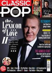 Classic Pop issue Aug/Sept 2016