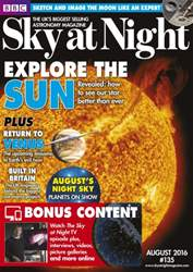 BBC Sky at Night Magazine issue August 2016