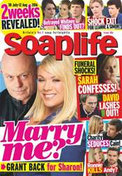 Soaplife issue 30th July 2016