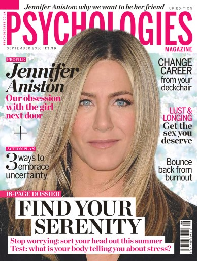 Psychologies issue No. 131 - Find Your Serenity