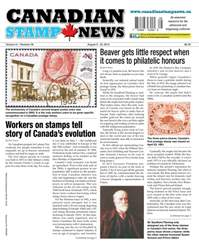 Canadian Stamp News issue V41#08 - August 9