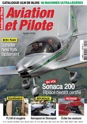Aviation et Pilote issue August 2016