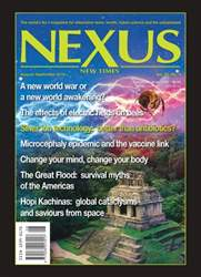 Nexus Magazine issue August-Sept 2016