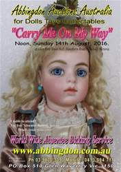 Abbingdon Auctions issue Carry Me On My Way